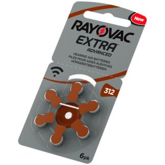 hörapparatsbatterier rayovac 312 brun
