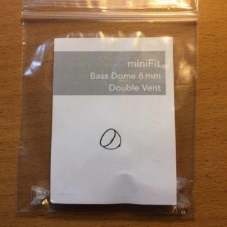 Minifit Bass Dome 6 mm Double Vent