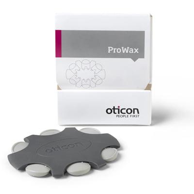 Bild på Prowax vaxfilter och förpackningen